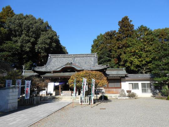 長良天神神社 拝殿.JPG
